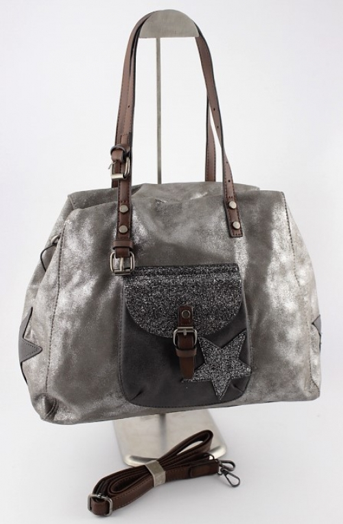 Reference Mode Sac A Main Mandoline Etoile Gris